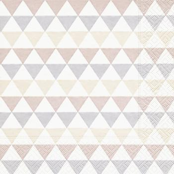 Lunchservietten Dreieck Muster (Triangle pattern)