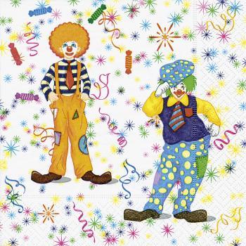 Lunch Napkins Clowns Www Top Tischdeko De