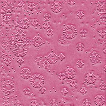 "Marked lunchnapkins Moments ""Uni pink"""