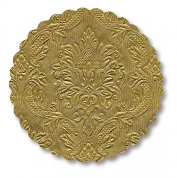 coaster Moments Ornament gold