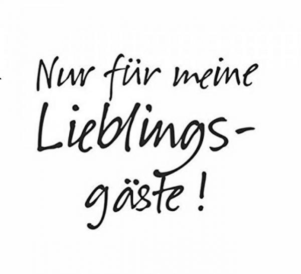 Serviette Spruche Nur Fur Meine Lieblingsgaste Servietten Und