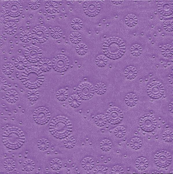 "Marked lunchnapkins Moments ""Uni lilac"""