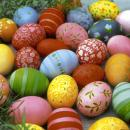 Cocktailservietten Bunte Eier (Colourful eggs)
